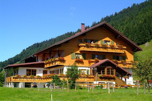 Pensjonat oferujący noclegi w górach